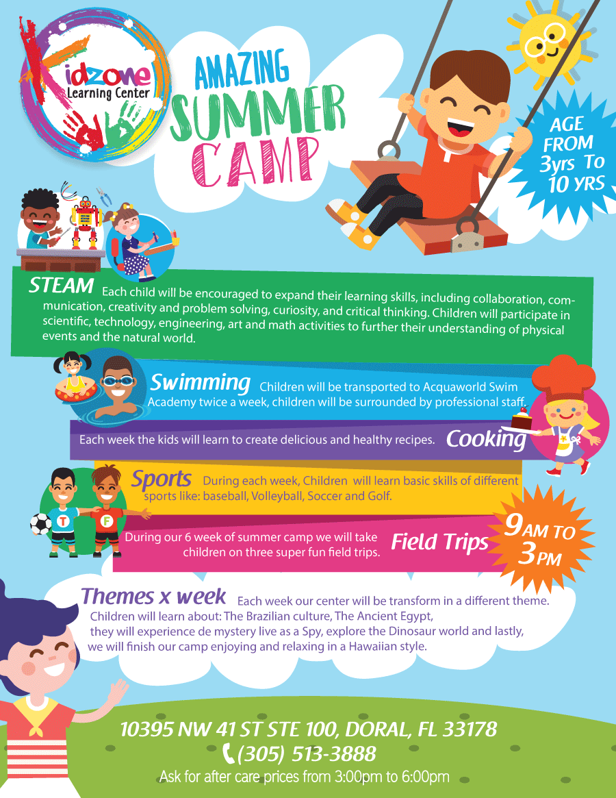 Summer Camp 2018 | Kidzone Learning Center